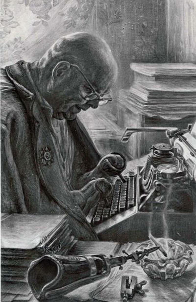 Фронтовые воспоминания. Рисунок Геннадия Доброва
