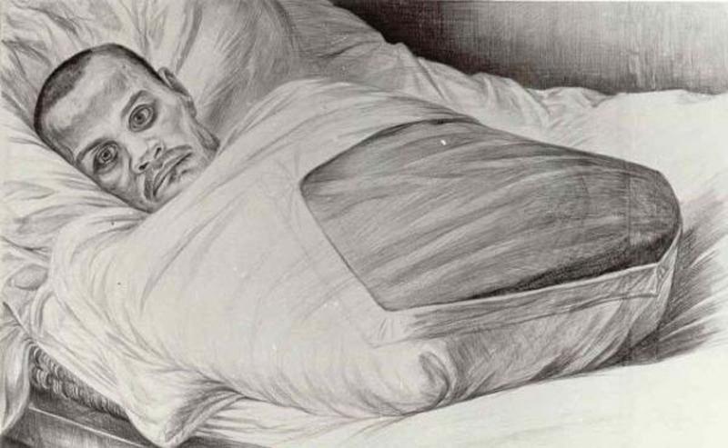 Неизвестный солдат. Рисунок Геннадия Доброва