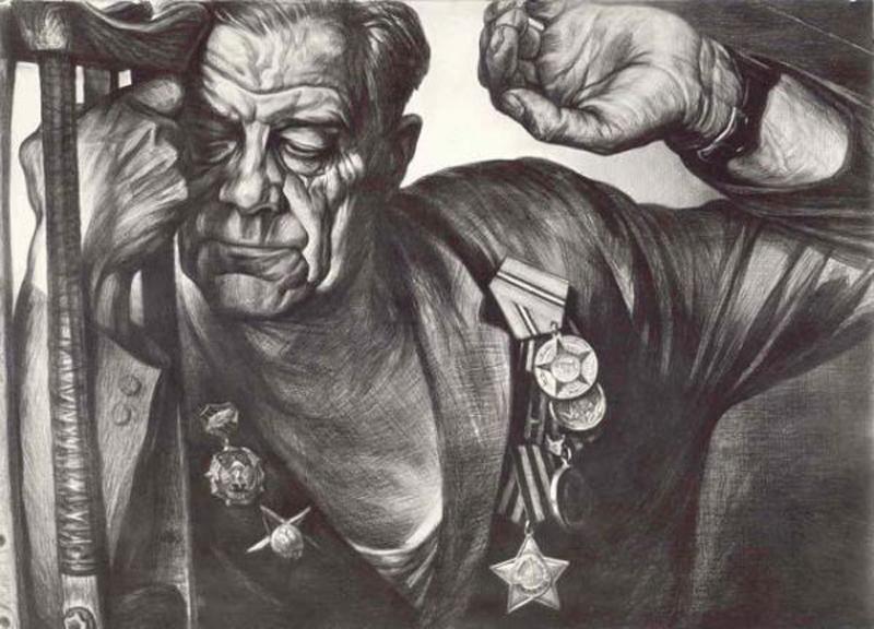 Новой войны не хочу! Рисунок Геннадия Доброва.