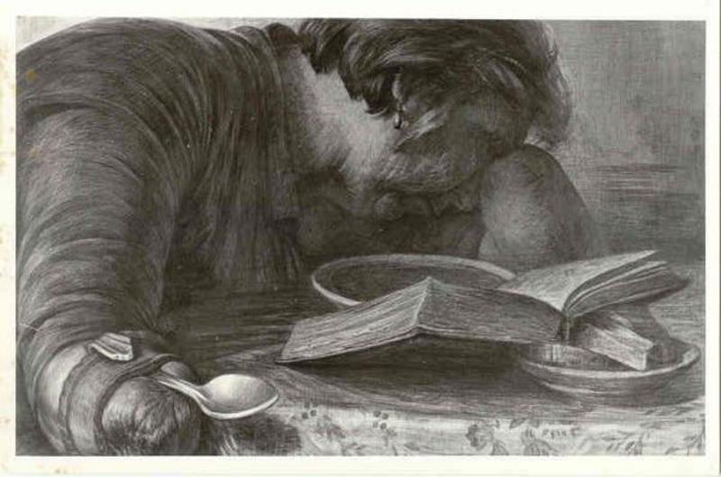 Книга о любви. Рисунок Геннадия Доброва