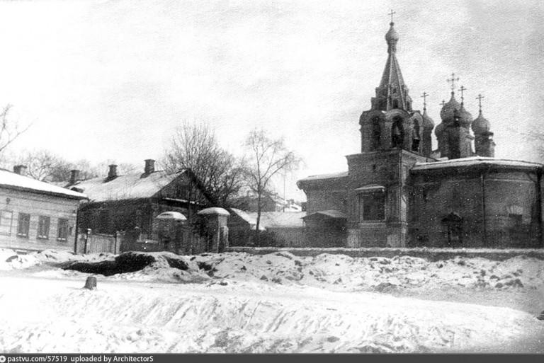 Церковь Рождества Христова, что в Палашах. Фото начала 1920-х годов.