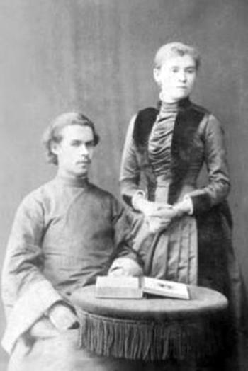Алексей Андреевич Чужбовский с женой