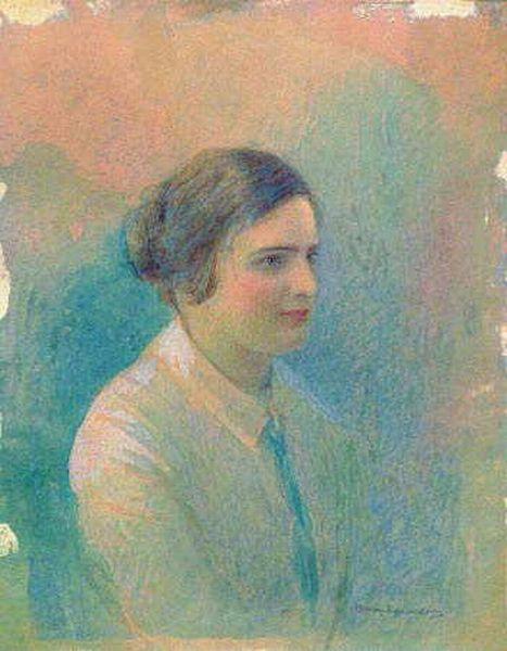Софья Крамская. Женский портрет, выполненный художницей в Красноярске