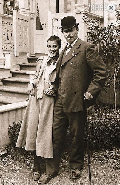М. Нестеров с дочерью Ольгой Фото - Константин Баберя