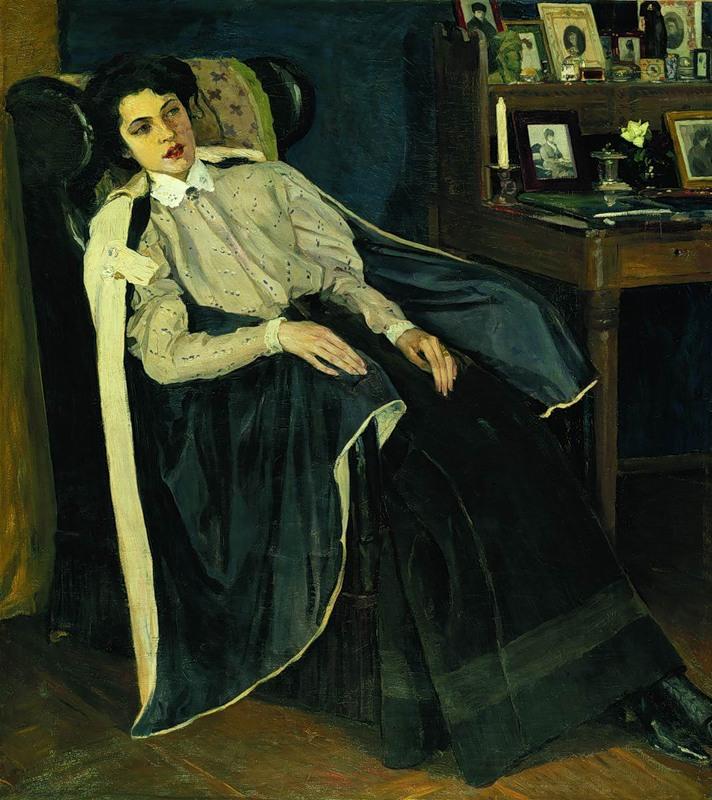 Портрет дочери Ольги, 1905 год (Ольга опять больна)