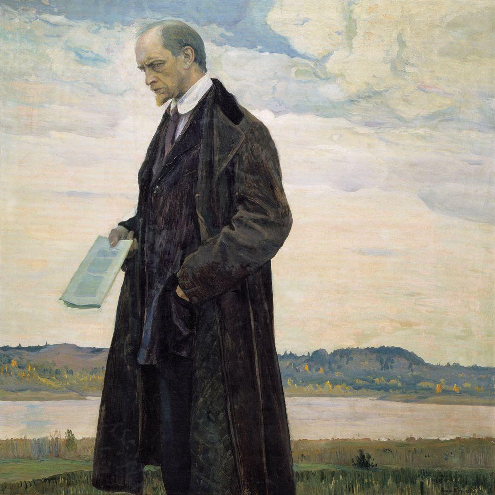 Мыслитель (Портрет философа И.А. Ильина). 1921-1922