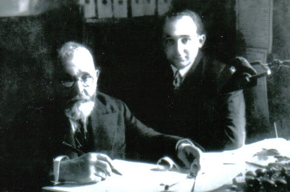 Мой дедушка Даввид Розмарин с братом