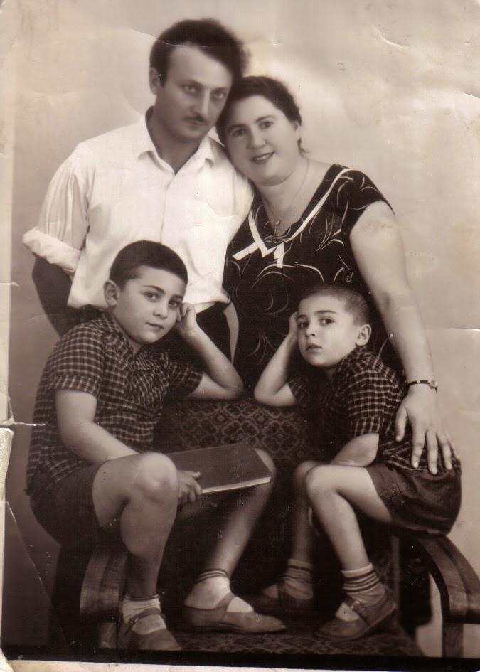 1960 г., Донецк, семья Рогозиных