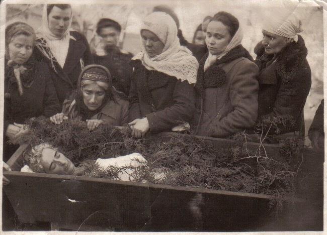 Мария Александровна Пригова. Похороны.