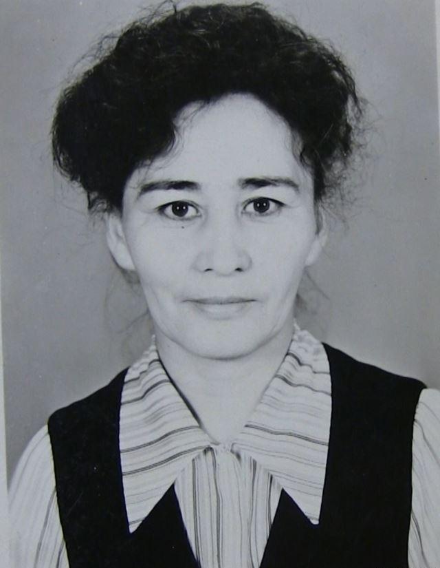 Несибе Бурсеитова в молодости