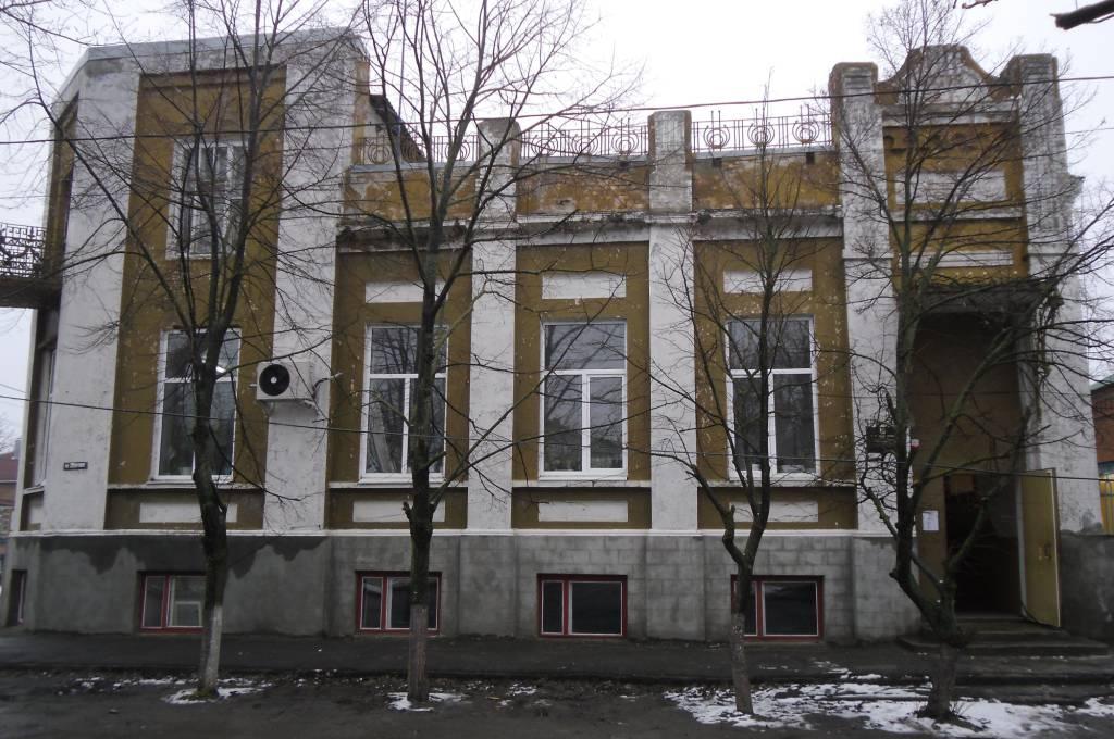 Современный вид дома Ф.С.Рубцова. Этот тот дом в котором проживал П.Н.Краснов находясь в ст. Константиновской в период с февраля по апрель 1918 года.