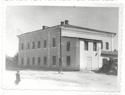 """Так выглядел в 1961 году """"Атаманский дворец"""", в это время там находился Константиновский райком партии."""