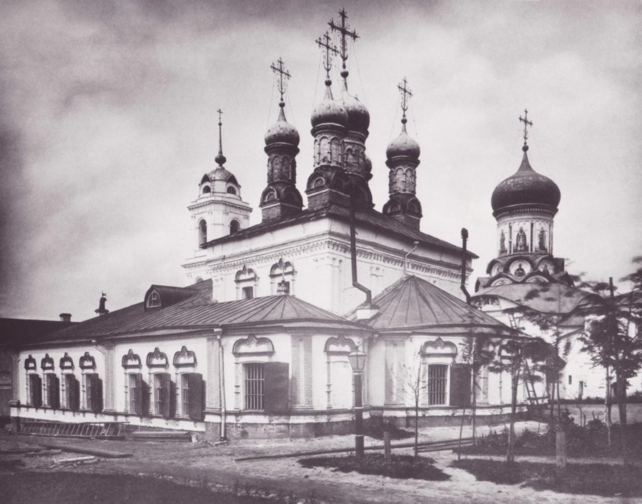 Рождественский концлагерь, Богородице-Рождественский монастырь, Рождественский монастырь (Москва)