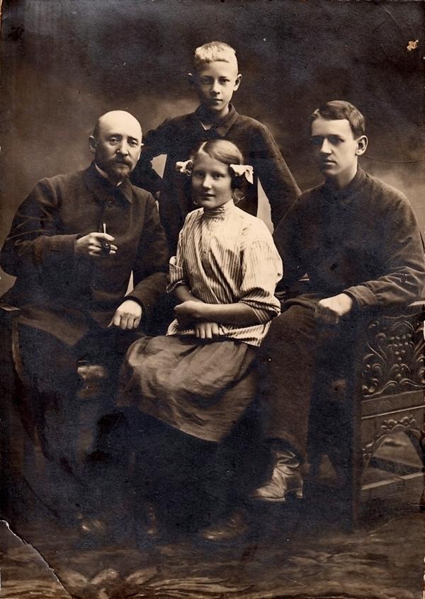 Винфрид Эмильевич, Леонид, Герда и Рудольф